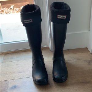 Hunter Other - Hunter boot socks ONLY! Black